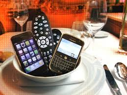 no cell phones at dinner